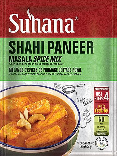 Suhana Shahi Paneer Mix