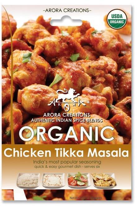 Arora Creations Organic Chicken Tikka Masala - 6 PACK