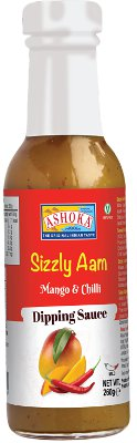 Ashoka Sizzly Aam Dipping Sauces - Mango & Chilli