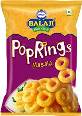 Balaji Pop Rings - Masala