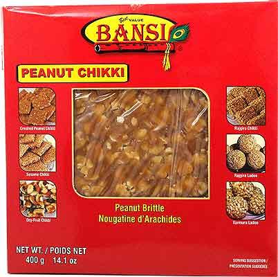 Bansi Peanut Jaggery Chikki - Peanut Brittle