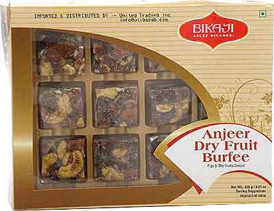 Bikaji Anjeer Dry Fruit Burfee (Figs & Dry Fruits Sweet)
