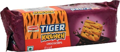 Britannia Krunch Chocochips Cookies (Pack of 4)