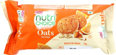 Britannia Nutrichoice Oats Cookies - Orange