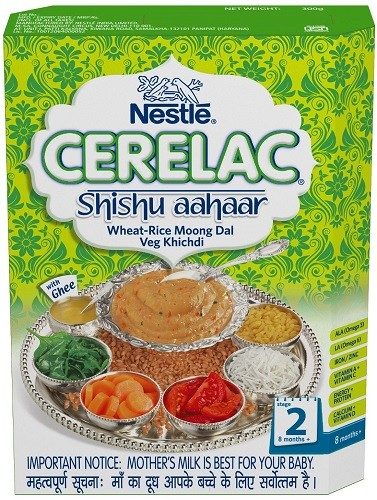 Nestle Cerelac - Khichdi with Vegetables & Ghee - Stage 2