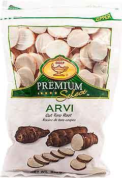 Deep Arvi (Cut Taro Root) (FROZEN)