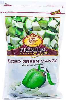 Deep Diced Green Mango (FROZEN)