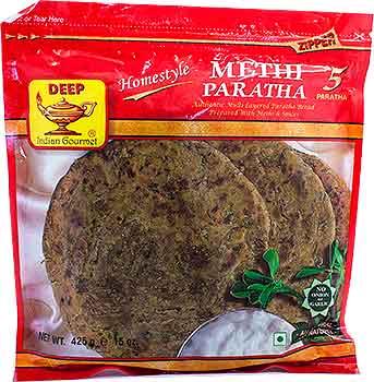 Deep Methi Paratha - 5 Pcs (FROZEN)
