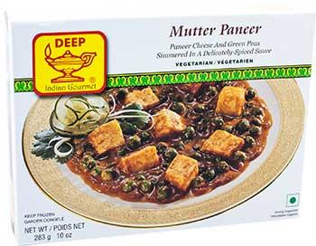 Deep Mutter Paneer (FROZEN)