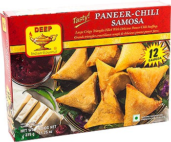 Deep Paneer Chili Samosa - 12 pcs (FROZEN)