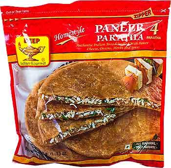 Deep Paneer Paratha - 4 pcs (FROZEN)