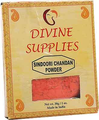 Divine Supplies Sindoori Chandan Powder