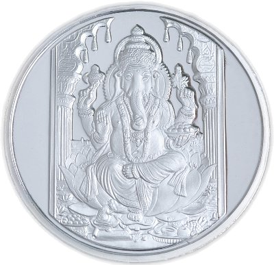 Ganesha .999 Silver Coin - 1 troy ounce (31 gms)