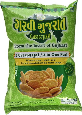 Garvi Gujarat 3 in One Puri (for Bhel)