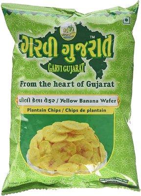 Garvi Gujarat Yellow Banana Wafer