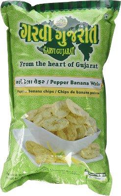 Garvi Gujarat Pepper Banana Wafers