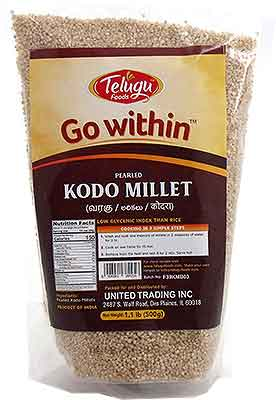 Go Within Pearled Kodo Millet