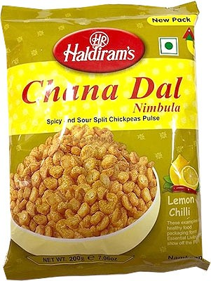 Haldiram's Nimbula Chana Dal - Lemon Chili
