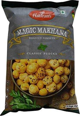 Haldiram's Magic Makhana - Classic Pudina