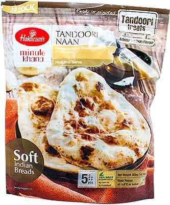 Haldiram's Tandoori Naan - 5 pcs (FROZEN)