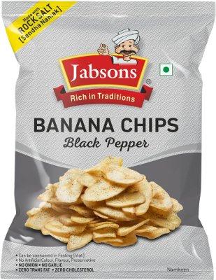 Jabson Banana Chips - Black Pepper