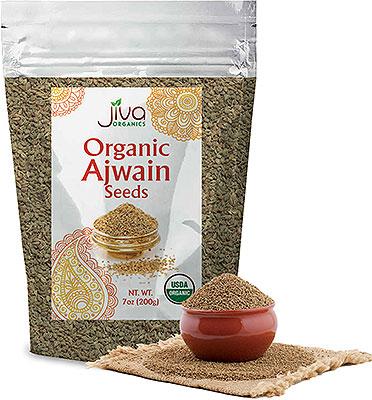 Jiva Organics Ajwain Seeds