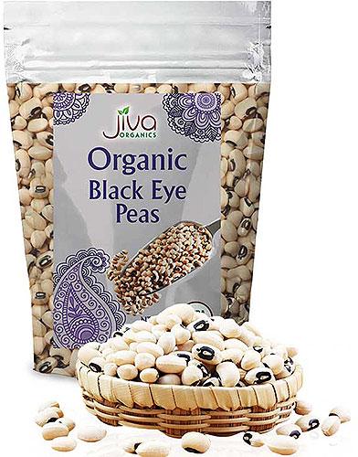 Jiva Organics Black Eye Beans - 2 lbs