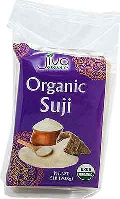 Jiva Organic Wheat Suji (Cream of Wheat - Rawa) Wheat Semolina