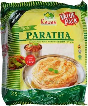 Kawan Plain Paratha - 25 pcs (FROZEN)