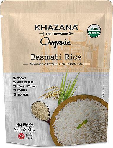Khazana Organic Basmati Rice (Ready-to-Eat)