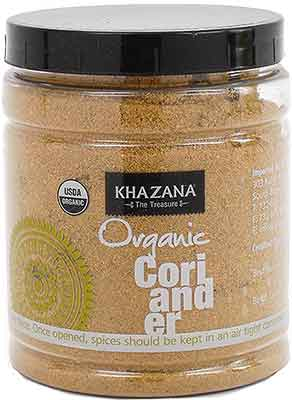 Khazana Organic Coriander Powder