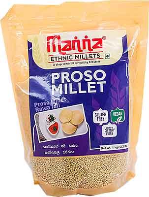 Manna Pearled Proso Millet - 1 kg