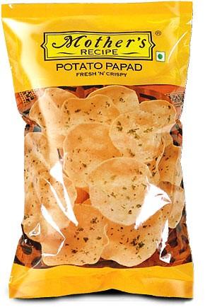 Mother's Recipe Potato Papad - Mini
