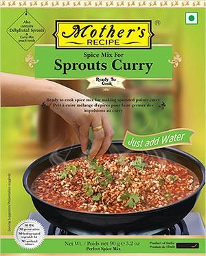 Mother's Recipe Sprouts (Mumbai Matki Usal) Curry Mix
