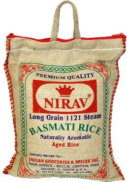 Nirav Aged Basmati Rice - 10 lbs.
