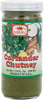 Nirav Coriander Chutney