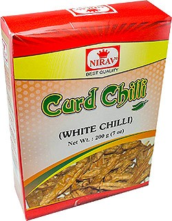 Nirav Dahi /  Curd Chilly (Vathals-More Milagai) - 7 oz
