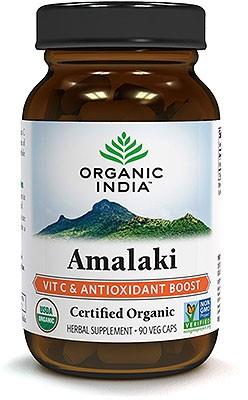 Organic India Organic Amalaki - Amla - 90 Veg Caps