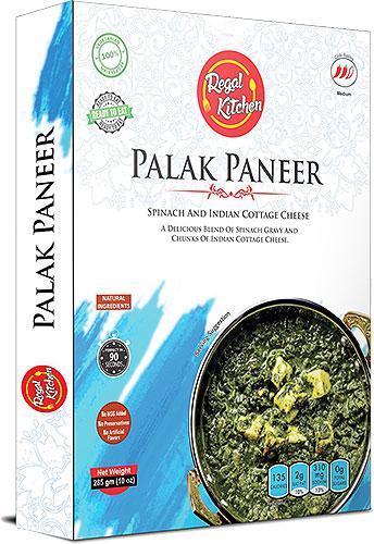 Regal Kitchen Palak Paneer (Ready-to-Eat) - BUY 2 GET 1 FREE!