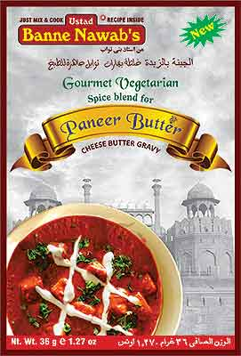 Ustad Banne Nawab's Paneer Butter Spice Mix