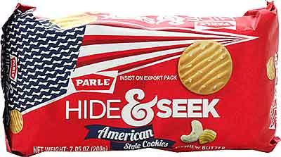 Parle Hide & Seek American Style Cookies - Butter