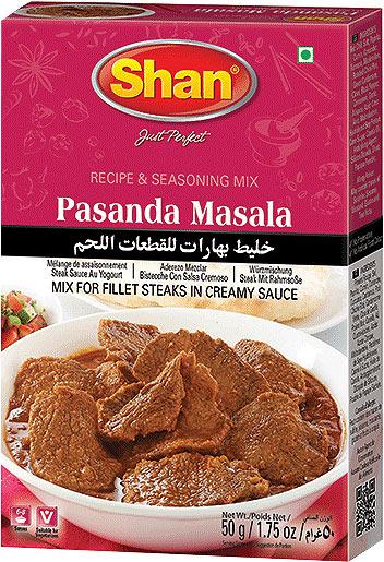 Shan Pasanda Curry Mix