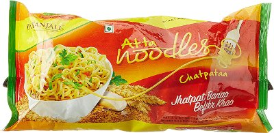 Patanjali Atta Noodles - Chatpataa - Quad Pack
