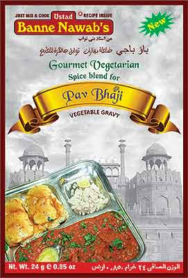 Ustad Banne Nawab's Pav Bhaji Spice Mix