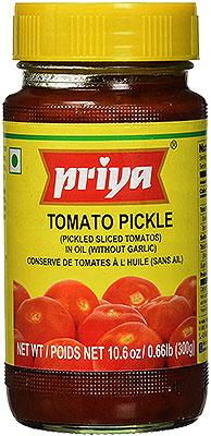 Priya Tomato Pickle without Garlic