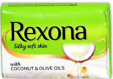 Rexona Silky Soft Skin Soap with Coconut & Olive Oils