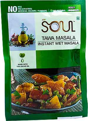 Soul Tawa Masala Instant Wet Masala - BUY 2 GET 1 FREE!