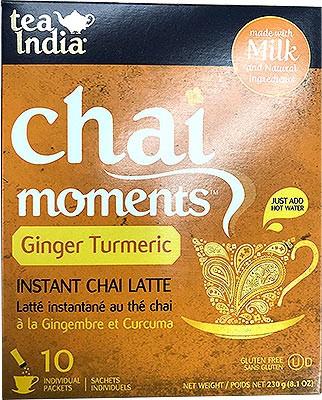 Tea India Chai Moments - Instant Ginger Turmeric Tea