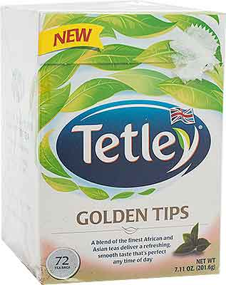 Tetley Golden Tips Tea Bags