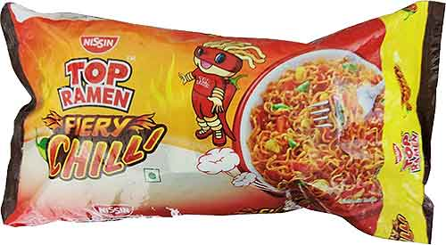Top Ramen Noodles - Fiery Chilli - Quad